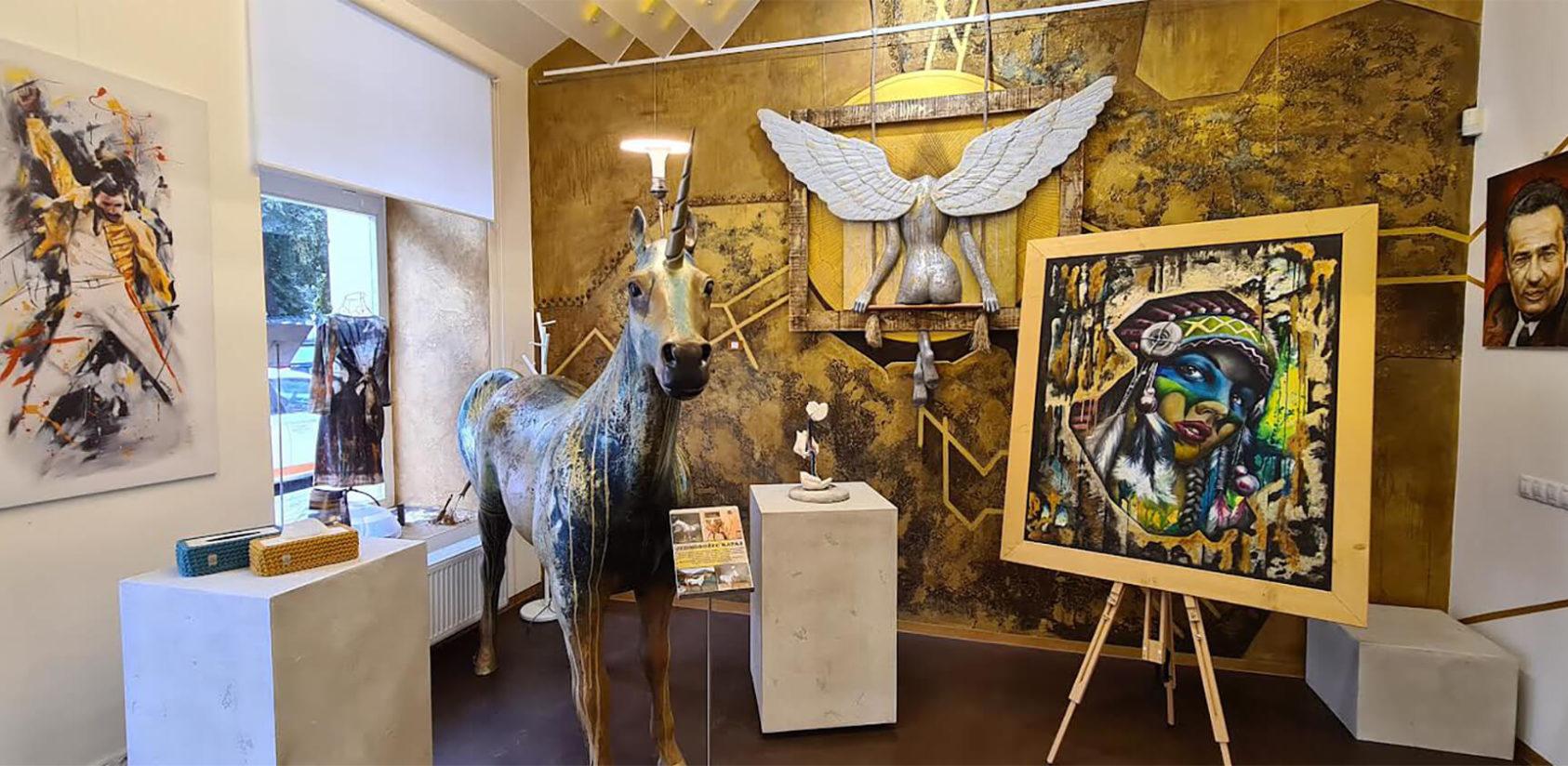 Potěšte svou duši uměním - v jediné galerii s únikovou hrou ZDARMA